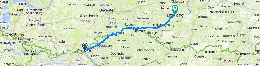 Von Arnheim nach Enschede