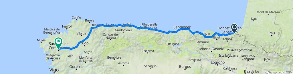 Il Cammino di Santiago del Nord