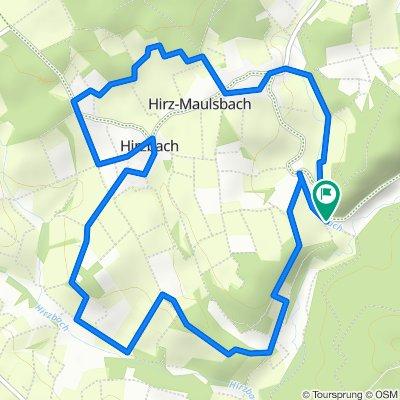 Mehrener Straße, Hirz-Maulsbach nach Mehrener Straße, Hirz-Maulsbach