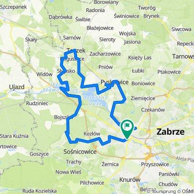 Rowerem przez powiat gliwicki - pętla północna