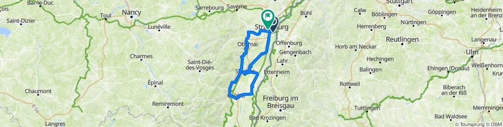Elsass-Tour Willing/Klawitter