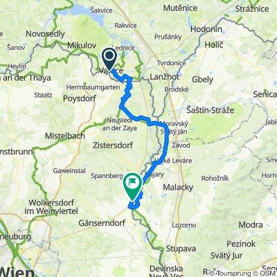 EV13 Etappe 9: Valtice - Mannersdorf