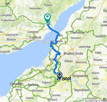 Nova Scotia to Chepstow via Severn Beach
