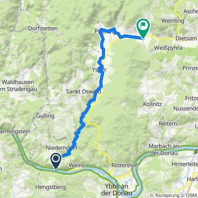 Yspertal-Radweg