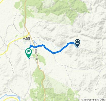 Ruta tranquila en Máfil