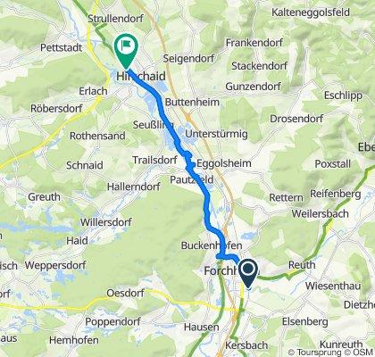 Mörderische Fahrt nach Hirschaid