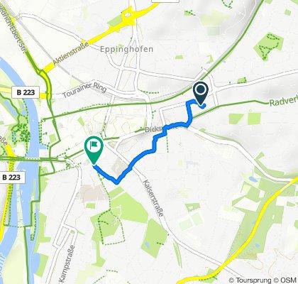 Entspannende Route in Mülheim an der Ruhr