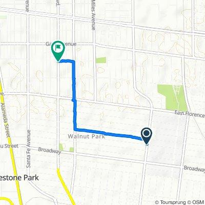 7675 State St, Huntington Park to 6602 Pacific Blvd, Huntington Park