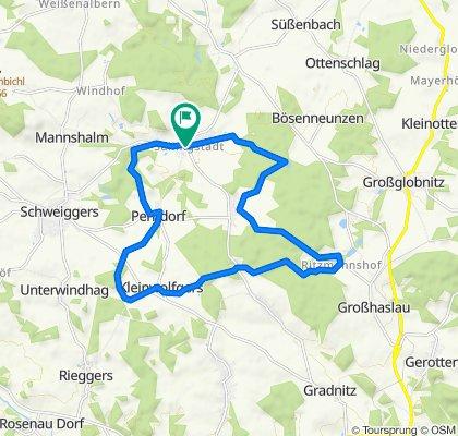 Bucheck-Strecke MTB