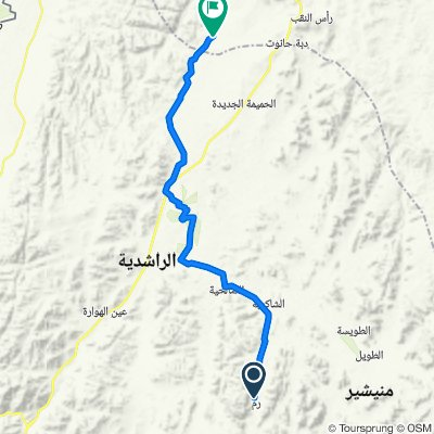 2: Wadi Rum - Abbasiya  (59.8km)