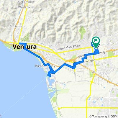 247 S Hill Rd, Ventura to 6250 Telegraph Rd, Ventura