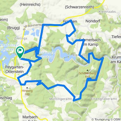 Dobrasee-Strecke MTB