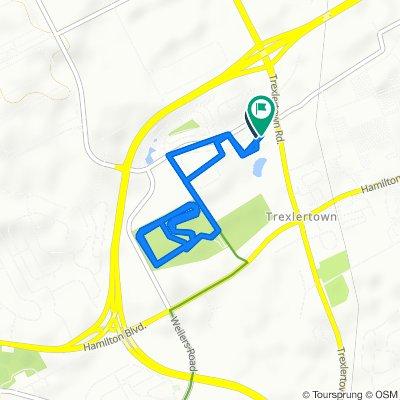 Moderate route in Breinigsville