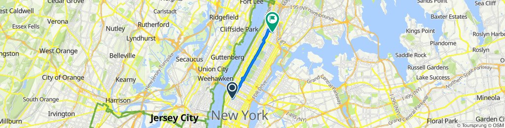 309–323 W 28th St, New York to 101–199 W 140th St, New York