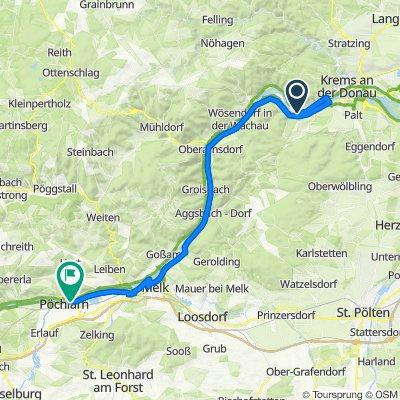 2021-Pass-Vienna-Pass_Tag 7_(Wachau-Pöchlarn_Violette Route