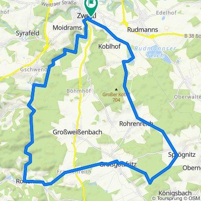 Hundertwasser-Tour MTB