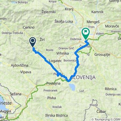 SLOVENIAN ALPINE CHALLENGE STAGE 5 B