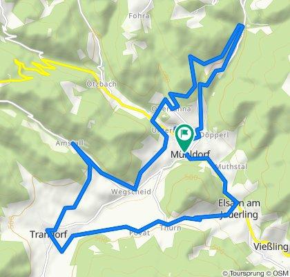 Ranna-Strecke MTB