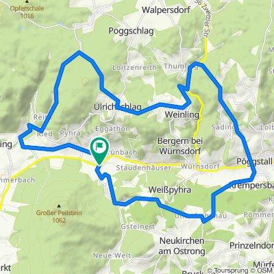 Riederberg-Strecke MTB