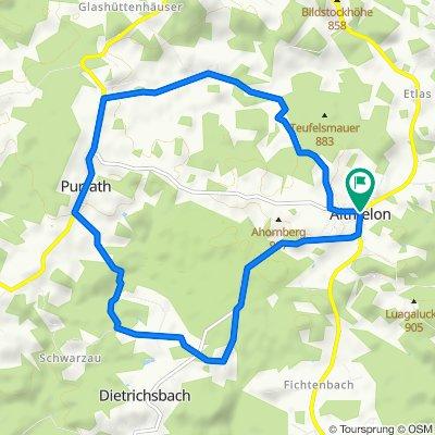 Wachtelhof-Strecke MTB