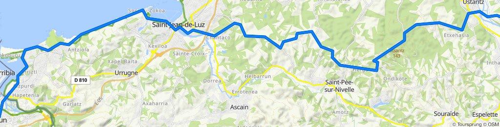 Day 1 - Irun to Halsou - Chez Audrey