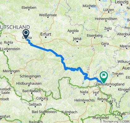 2018 Tour 2 (Saale, Voigtland)