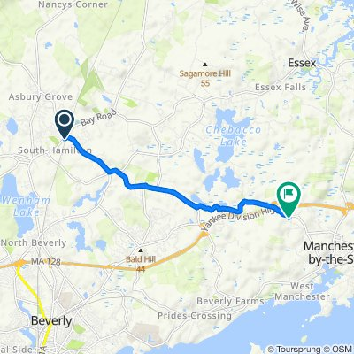 Moderate route in Manchester