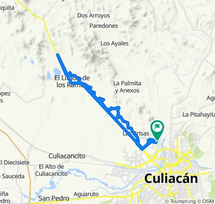 De San Camilo 10, Culiacán Rosales a San Camilo 10, Culiacán Rosales