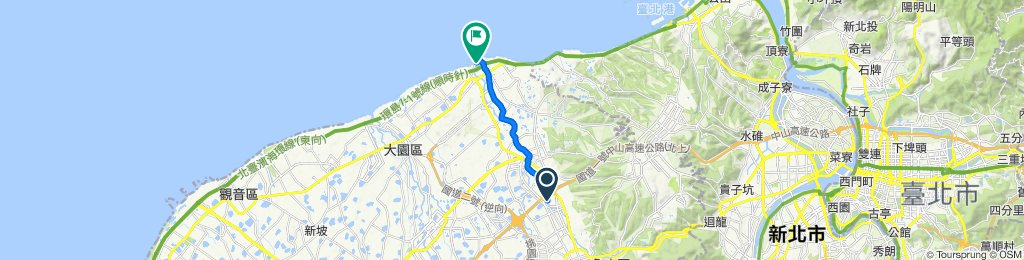 ENERMAX團騎-水岸竹圍線(去程)