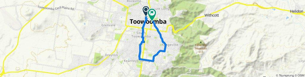Toowoomba West and East Creeks