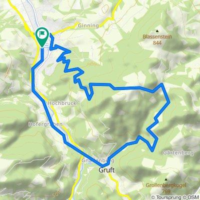 Blassenstein - Strecke MTB