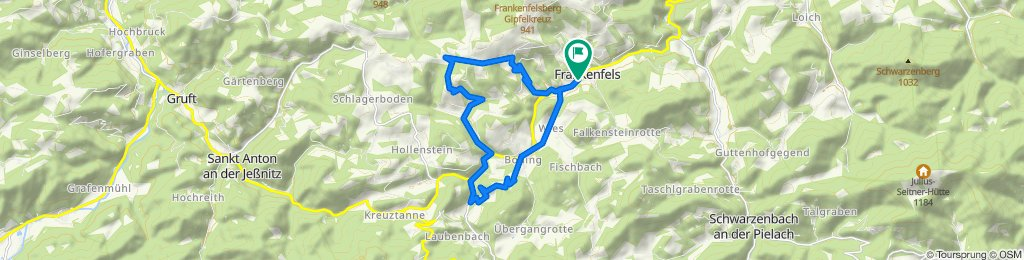 Frankenfelsberg-Runde MTB