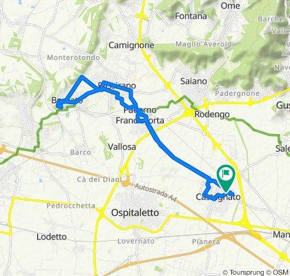 Via Vittorio Veneto 7/F, Castegnato to Via Vittorio Veneto 7/F, Castegnato