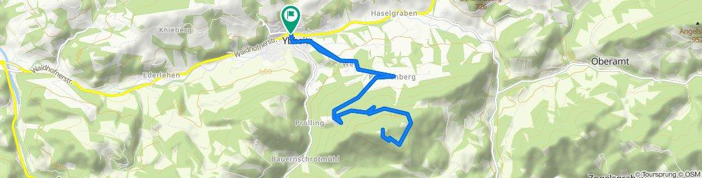 Prochenberg-Strecke MTB
