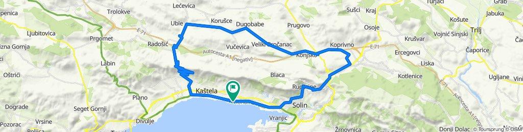 Kastela-Malacka-Vucevica-dugopolje-Klis-Solin-Kastela