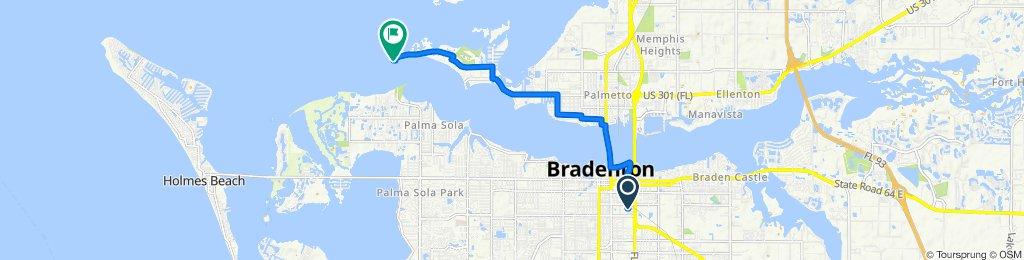 Supersonic route in Bradenton