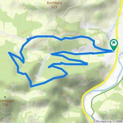Tiefental - Strecke MTB