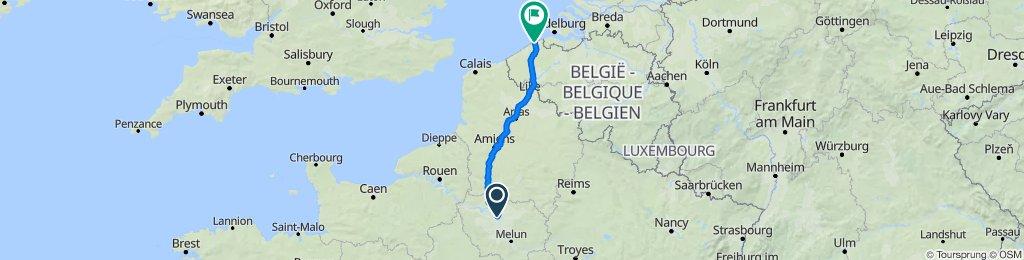 2 Scotland 1.4 - Paris - Beauvais - Lille - Bruges