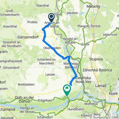 KTM Etappe 9: Angern – Hainburg