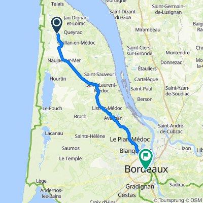 7  Vendays-Montalivet to Bordeaux