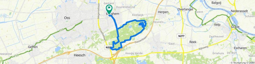 Sint Willibrordusstraat 45, Berghem to Sint Willibrordusstraat 47A, Berghem