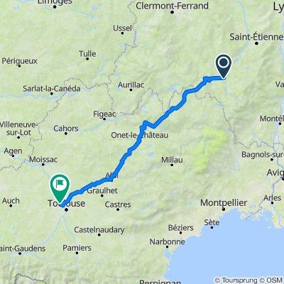 C4H 05: Le Puy - Toulouse