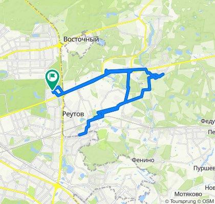 Велоездки спокойные размеренные длинно Балашихинские 05 03 2020