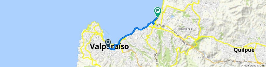 De Aldunate 1580, Valparaíso a San Martín 787, Viña del Mar