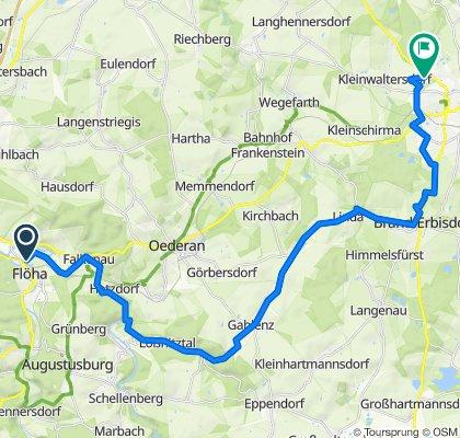 Flöha-Falken-Lößnit-FG 35km