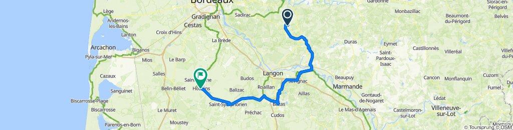 2–10 Rue de Rauzan, Frontenac to 2–6 Route de Bordeaux, Hostens