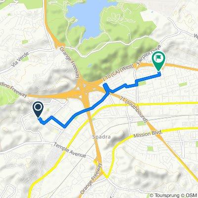 Mansion Lane 15, San Dimas to Cambrin Road 1347, Pomona