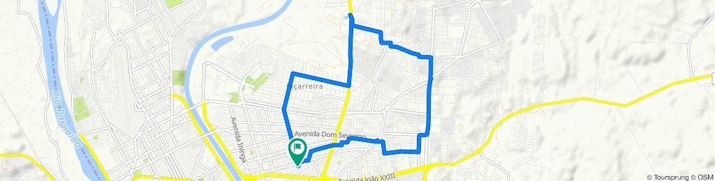 Avenida Homero Castelo Branco, 383, Teresina to Avenida Homero Castelo Branco, 383, Teresina