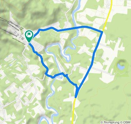 未舗装路探検コース