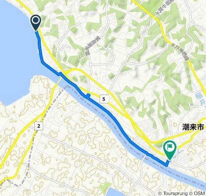 潮来市サイクリングロード(約7km)